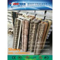 China PVC artificial marble profile making machine extrusion machine Marble profile Production Line wholesale