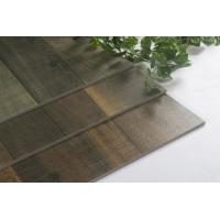 Buy cheap Effective Dark Wooden Floor Tile / 24'x24' Ceramic Porcelain Tile 3 Surface One from wholesalers