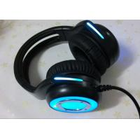 China Cool wired stereo gaming headset noise cancelling microphone / blue gaming headphones wholesale