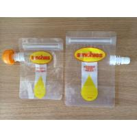 China FDA certification reusable liquid food spout pouch with leakproof wholesale