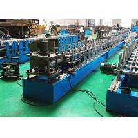China Roller Shutter Door Guide Track Roll Forming Machine With Low Cutting Burr on sale