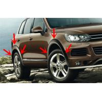 China Volkswagen Touareg Wheel Molding Fender Trim , OEM Style Wide Wheel Arches wholesale