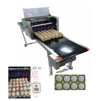 China High Efficient Egg Inkjet Marking Machine , Date Printing Machine For Eggs wholesale