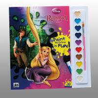 China Disney Children Perfect Bound Book Printing With Paint / Brush on sale