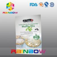 Quality Muffin Mix Snack Bag Packaging / Plastic Pouches for Yummy Pastry for sale