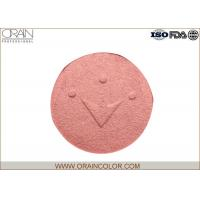 China Professional Pressed Powder Blush For Face Make Up Crown Shape Pattern wholesale