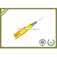 Buy cheap Indoor Steel Armored Fiber Optic Cable Single Mode With Customerized Jacket Color from wholesalers