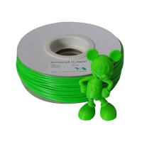 Quality  HIPS Plastic Filament 3mm Green , Rapid Prototyping 3D printer Consumables for sale