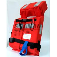 China Adult 150N Foam Foldable SOLAS Marine Life Jacket  Lifevest For Navy , Offshore wholesale