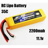 China 11.1v 2200mah 35c Lithium Polymer Battery for RC airplane,RC car,RC boat,good quality wholesale