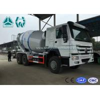 China High Efficiency 12cbm Large Cement Mixer truck 320HP Engine , Left Hand Driving on sale
