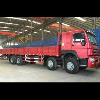 China Sidewall Fence Stake Cargo Truck 400L Tank Dimension Max Speed 102 Km/H wholesale