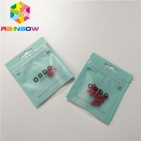 China 3 Side Seal Sealed Pill Foil Pouch Packaging Aluminum Foil Ziplock Custom Printing wholesale
