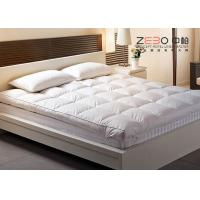 China Goose Down Soft Massage Mattress Topper King Size For Hotel / Home wholesale