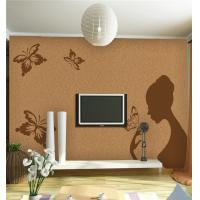 Quality Intelligent Bamboo Fiber Board High Glossy Surface Butterflies Girl Pattern for sale