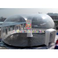China PVC Airtight Tent For Beach , Inflatable Clear Dome Tent Rain Resistance wholesale
