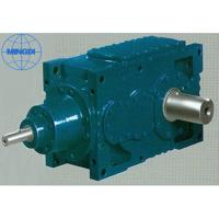 China 67 - 10800kw Industrial GMC Series Bevel Helical Gearbox Foot Mounted on sale