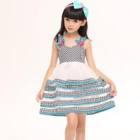 China Sweet Birthday Dress for Baby Girls Evening Dresses for Girls 12 Years Layered Imported wholesale