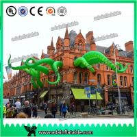 China 2017 New Brand Event Party Decoration Green Inflatable Octopus Legs 5M wholesale