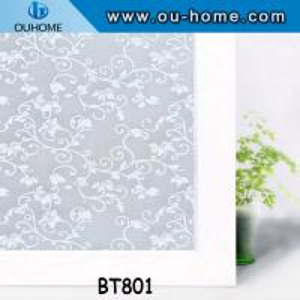 China BT801 PVC self adhesive glass window film wholesale