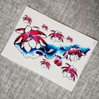 China Personalised Transfer Arm Decal Temporary Tattoos Stickers For Women / Men / Kids wholesale