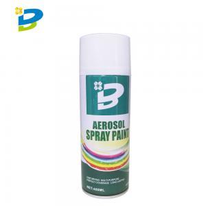 China Fast Dry Multi Purpose 400ML Aerosol Spray Paint No CFCs wholesale