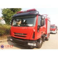 Quality Gross Weight 7800kg Rescue Fire Truck , Human Engineering Design Foam Fire Equipment Truck for sale