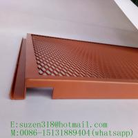 Buy cheap powder coated aluminum expanded metal for interior ceiling design from wholesalers
