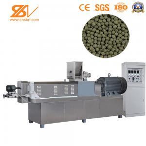 China SLG65 Feed Extruder Machine , Pellet Extruder Machine Production Line Siemens Motor on sale