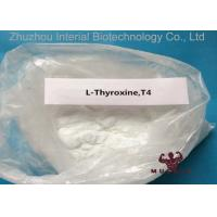 China Natural Pharmaceutical Powders L Thyroxine T4 For Fat Weight Loss CAS 51-48-9 99.3% Purity wholesale