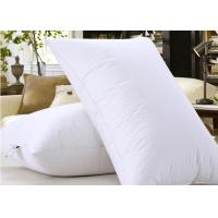 China Microfiber Filling Hotel Collection Pillows For Nursing / Sleeping Rectangle Shape wholesale