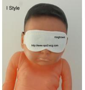 China Medical Surgical Neonatal Phototherapy Eye Mask Unique Shape CE FDA Listed wholesale