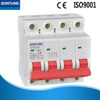 China Safety Miniature MCB Circuit Breaker 4p 6A - 63A MCB With High Durability wholesale