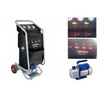 China Car R134a A/C Refrigerant Recycling And Recharge Manual Machine wholesale