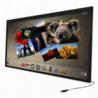 China 42-inch Surface Light Wave/Touch Screen Overlay Panel with USB Interface Multi-touch Screen Glass wholesale