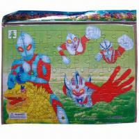 China Ultraman jigsaw puzzles, eco-friendly and non-toxic wholesale