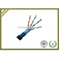 Buy cheap HDPE Insulation Cat5e STP / FTP Network Lan Cable Twisted Pair 24AWG from wholesalers