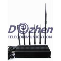 Buy cheap 6 Antenna 3G 4G LTE Cell phone GPS & LOJACK Jammer from wholesalers