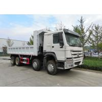 Buy cheap Heavy Duty 8 X 4 Tipper Truck Q345 Material , Loading 50 Ton Dump Truck from wholesalers