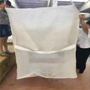 China 1 Ton / 2 Ton Bulk Firewood Bags , Flat Bottom Polypropylene Grain Bags wholesale