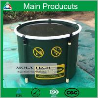 China High Quality Plastic PVC Collapsible Frame Round Fish Tank wholesale