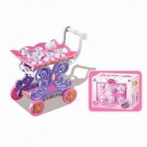 China Beauty Tea Cart, Sized 44.0 x 33.5 x 21.8cm wholesale