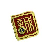 China Compact Size Custom Metal Pin Badges Eco Friendly Materials With Epoxy Dome wholesale