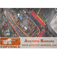 China Temporary Sound Barriers Fencing for Construction Site Reduction of Noise to Protect Worker Health wholesale
