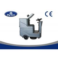 China Battery Powered Floor Scrubber Dryer Machine Ametec Suction Motor Low Noise wholesale
