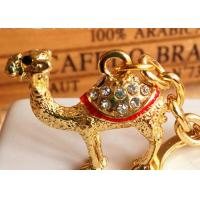 China Camel Design Key Chain Diamond - Encrusted Arab Cultural Personal Effects wholesale