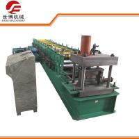 China Semi - Automatic C Section Cold Roll Forming Machine For Steel Frame , 0-25m/Min Productivity wholesale
