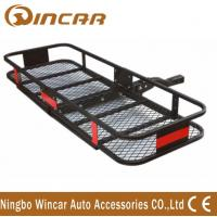 China Hot Item Steel Material Hitch Mount Folding Cargo carrier Rear Bike Carrier wholesale