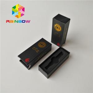China Custom Size Vape Cartridge Packaging Boxes Cbd Atomizer Kit Matte Surface Finish wholesale