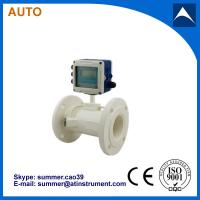 Quality Wall Mounted Clamp On Type Ultrasonic Flowmeter/Fixed Ultrasonic Flow Meter with for sale
